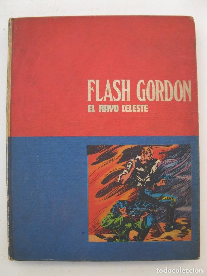 FLASH GORDON - EL RAYO CELESTE - TOMO Nº 1 - HÉROES DEL CÓMIC - BURU LAN DE EDICIONES - AÑO 1972. (Tebeos y Comics - Buru-Lan - Flash Gordon)