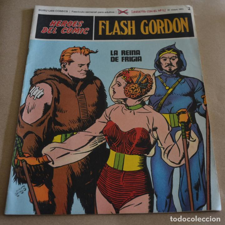 HEROES DEL COMIC, FLASH GORDON, Nº 2. BURU LAN 1971. LITERACOMIC. C2 (Tebeos y Comics - Buru-Lan - Flash Gordon)