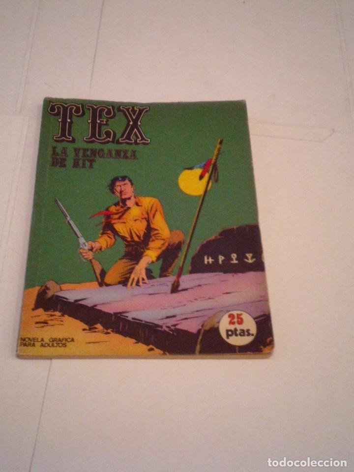 TEX - BURU LAN - NUMERO 9 - LA VENGANZA DE KIT - BUEN ESTADO - GORBAUD - CJ 105 (Tebeos y Comics - Buru-Lan - Tex)