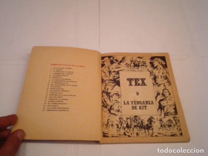 Cómics: TEX - BURU LAN - NUMERO 9 - LA VENGANZA DE KIT - BUEN ESTADO - GORBAUD - CJ 105 - Foto 2 - 156595458