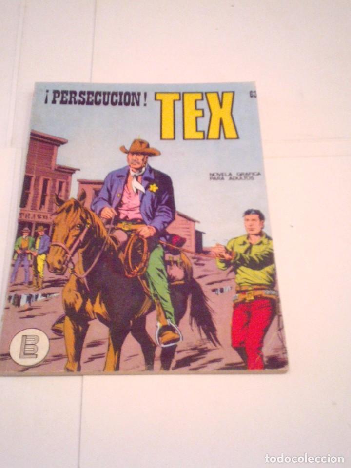 TEX - BURU LAN - NUMERO 63 - LA VENGANZA DE KIT - BUEN ESTADO - GORBAUD - CJ 105 (Tebeos y Comics - Buru-Lan - Tex)