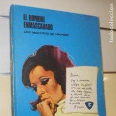 Cómics: TOMO EL HOMBRE ENMASCARADO Nº 4 LOS MISTERIOS DE NIMPORE - BURU LAN -. Lote 156990338