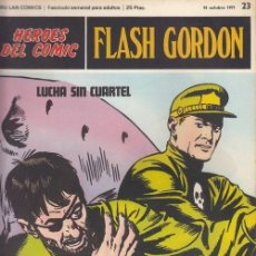 Cómics: HEROES DEL COMIC - FLASH GORDON - BURULAN - FASCICULO Nº 23. Lote 157208346