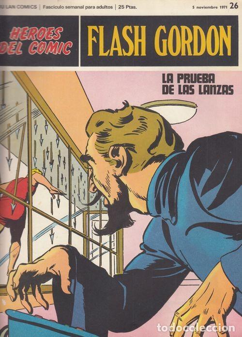HEROES DEL COMIC - FLASH GORDON - BURULAN - FASCICULO Nº 26 (Tebeos y Comics - Buru-Lan - Flash Gordon)