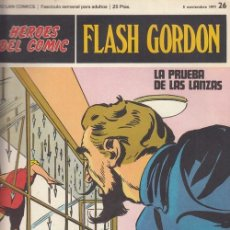Cómics: HEROES DEL COMIC - FLASH GORDON - BURULAN - FASCICULO Nº 26. Lote 157208458