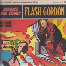 Cómics: HEROES DEL COMIC - FLASH GORDON - BURULAN - FASCICULO Nº 29. Lote 157208602