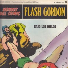 Cómics: HEROES DEL COMIC - FLASH GORDON - BURULAN - FASCICULO Nº 33. Lote 157209234