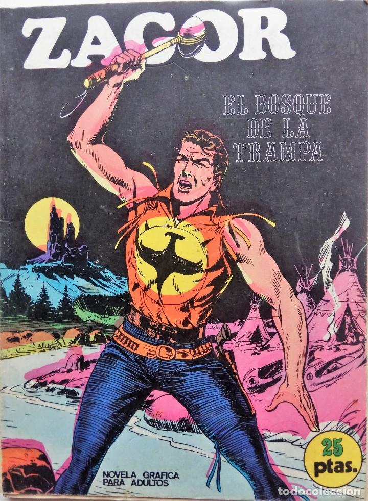 ZAGOR Nº 1 - AÑO 1971 - 25 PESETAS (Tebeos y Comics - Buru-Lan - Zagor)