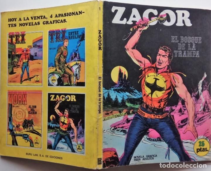 Cómics: ZAGOR Nº 1 - AÑO 1971 - 25 PESETAS - Foto 2 - 157240850