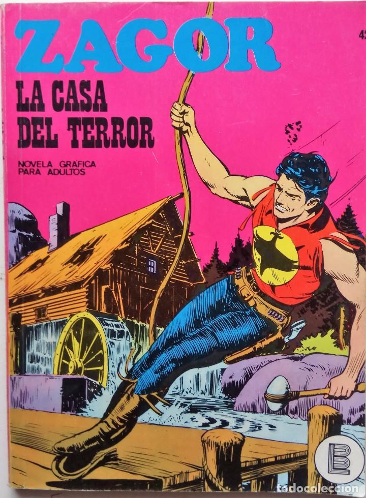 ZAGOR Nº 42 - AÑO 1972 - BUEN ESTADO INCLUIDO LOMO (Tebeos y Comics - Buru-Lan - Zagor)