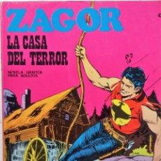 Cómics: ZAGOR Nº 42 - AÑO 1972 - BUEN ESTADO INCLUIDO LOMO. Lote 157242894
