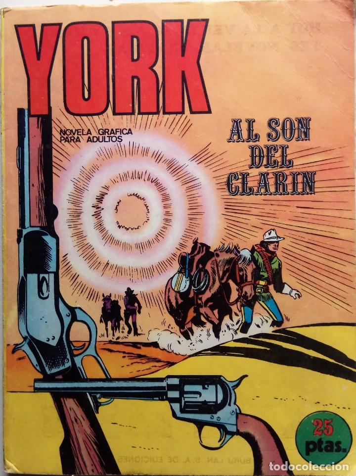 YORK Nº 1 - AÑO 1971 (Tebeos y Comics - Buru-Lan - Otros)