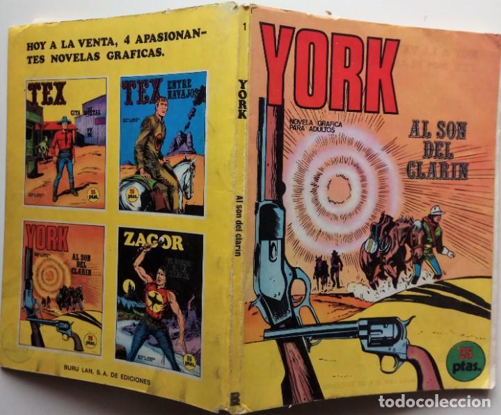 Cómics: YORK Nº 1 - AÑO 1971 - Foto 2 - 157244462