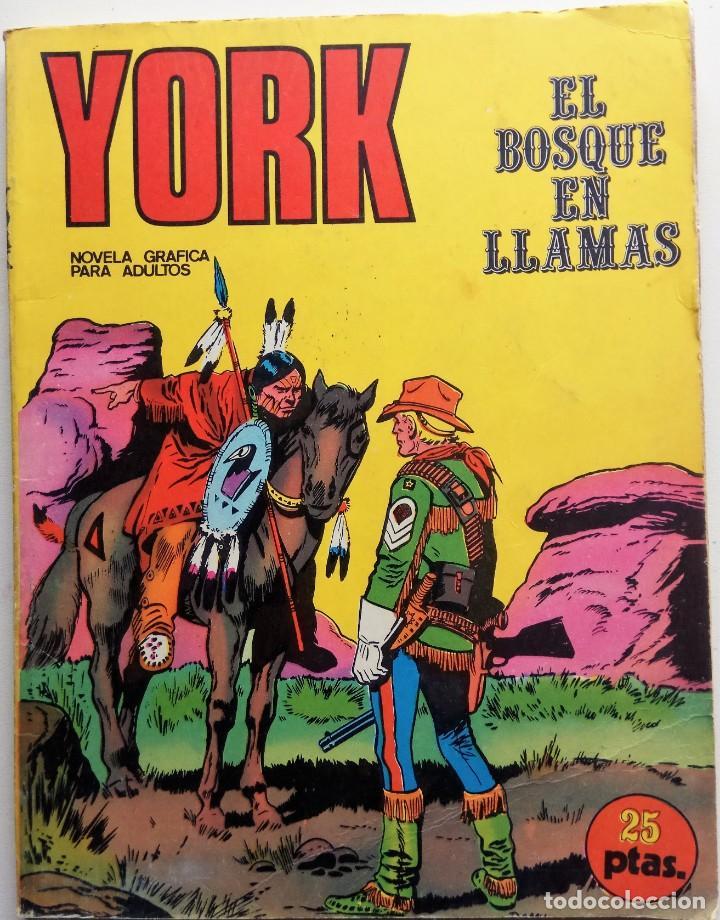 YORK Nº 2 - AÑO 1971 (Tebeos y Comics - Buru-Lan - Otros)