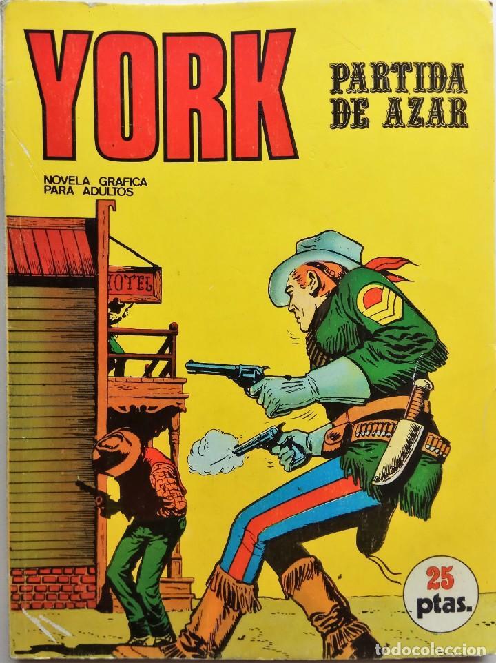 YORK Nº 6 - AÑO 1971 (Tebeos y Comics - Buru-Lan - Otros)