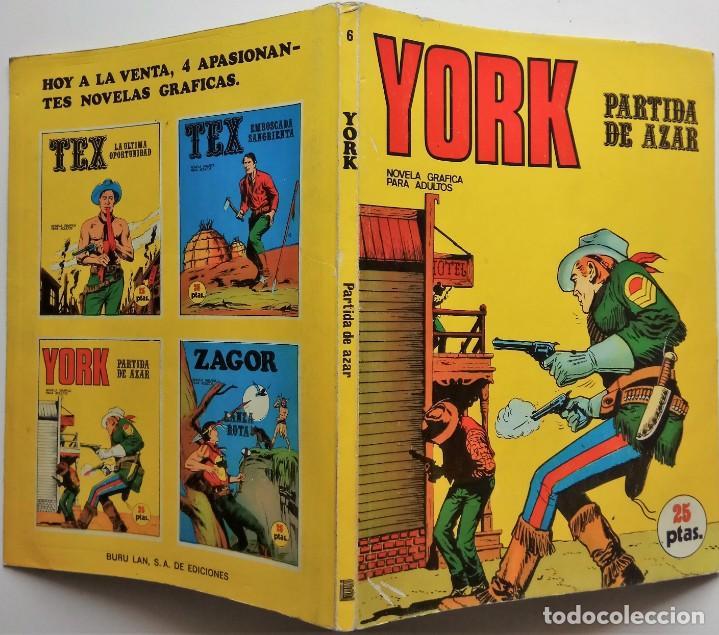 Cómics: YORK Nº 6 - AÑO 1971 - Foto 2 - 157244982