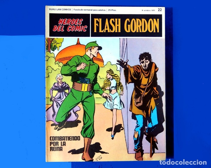 Cómics: FLASH GORDON, LOTE DE 10 FASCÍCULOS PERTENECIENTES AL TOMO 2, 1971 - BURU-LAN - COMO NUEVOS - Foto 18 - 84867252