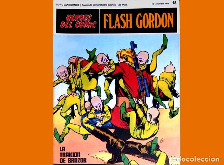 Cómics: FLASH GORDON, LOTE DE 10 FASCÍCULOS PERTENECIENTES AL TOMO 2, 1971 - BURU-LAN - BUEN ESTADO. - Foto 12 - 84867252