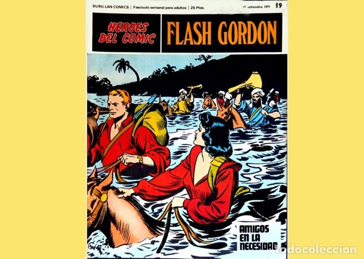 Cómics: FLASH GORDON, LOTE DE 10 FASCÍCULOS PERTENECIENTES AL TOMO 2, 1971 - BURU-LAN - BUEN ESTADO. - Foto 14 - 84867252