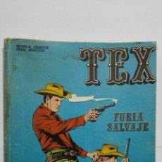 Cómics: TEX Nº 14, FURIA SALVAJE, EDICIONES BURU-LAN, 1971. Lote 157374354