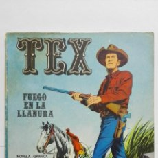Cómics: TEX Nº 17, FUEGO EN LA LLANURA, EDICIONES BURU-LAN, 1971. Lote 157375838