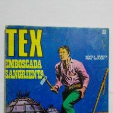 Cómics: TEX Nº 22, EMBOSCADA SANGRIENTA, EDICIONES BURU-LAN, 1971. Lote 157376586
