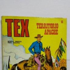 Cómics: TEX Nº 23, TERRITORIO APACHE, EDICIONES BURU-LAN, 1971. Lote 157376678