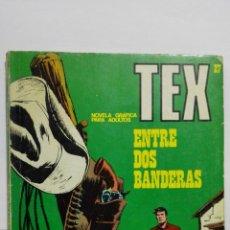Cómics: TEX Nº 27, ENTRE DOS BANDERAS, EDICIONES BURU-LAN, 1971. Lote 157377038