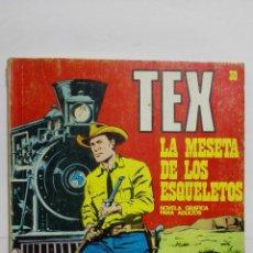 Cómics: TEX Nº 30, LA MESETA DE LOS ESQUELETOS, EDICIONES BURU-LAN, 1971. Lote 157377394