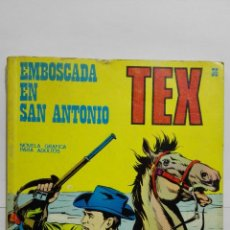 Cómics: TEX Nº 36, EMBOSCADA EN SAN ANTONIO, EDICIONES BURU-LAN, 1971. Lote 157378330