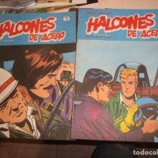 Cómics: 2 COMICS DE HALCONES DE ACERO Nº 6,9,. Lote 157434282