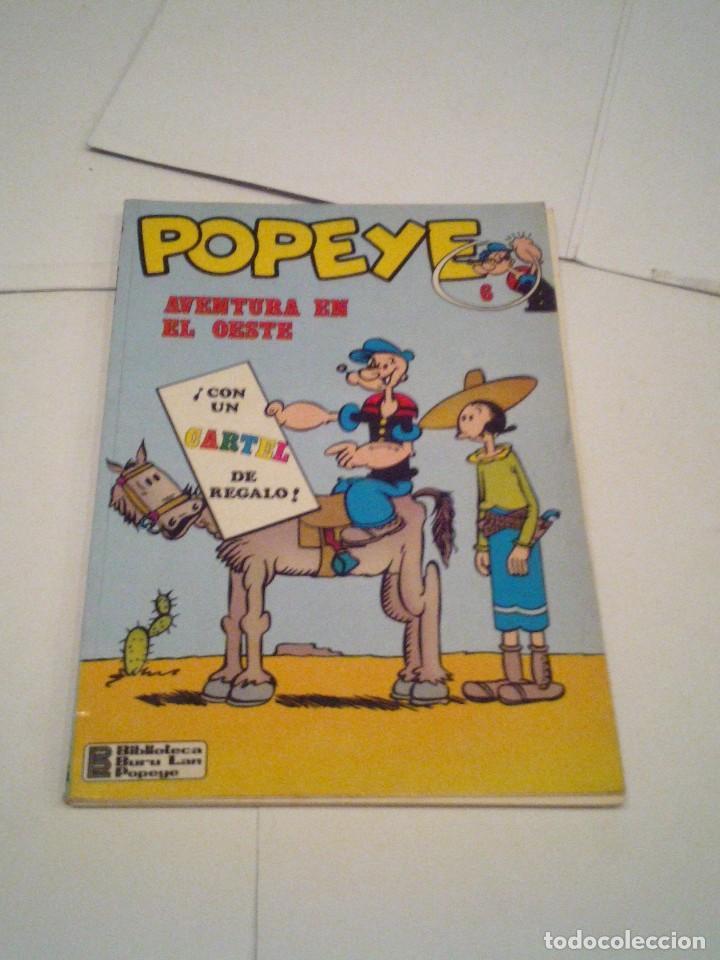 POPEYE - NUMERO 6 - BURU LAN - AVENTURA EN EL OESTE - BUEN ESTADO - - GORBAUD - CJ 104 (Tebeos y Comics - Buru-Lan - Popeye)