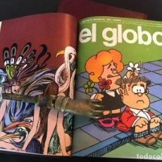 Cómics: COLECCIÓN COMPLETA EL GLOBO, BURU LAN, 21 EJEMPLARES EN DOS TOMOS.. Lote 157924078