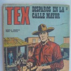 Cómics: TEX , DISPAROS EN LA CALLE MAYOR . DE BURU LAN , 1971. Lote 158269918