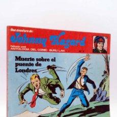 Comics : JOHNNY HAZARD 7. MUERTE SOBRE EL PUENTE DE LONDRES (FRANK ROBBINS) BURULAN BURU LAN, 1973. Lote 158274482