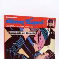Comics : JOHNNY HAZARD 10. ESCAPADA EN VENECIA (FRANK ROBBINS) BURULAN BURU LAN, 1973. Lote 158274486