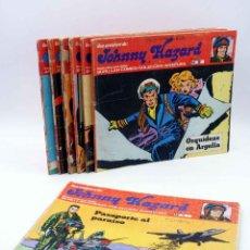 Comics - JOHNNY HAZARD 1 2 3 4 5 6 7. (Frank Robbins) Burulan Buru Lan, 1973 - 158274490