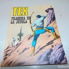 Cómics: TEX 75 TRAGEDIA EN LA JUNGLA BURULAN. Lote 158785166