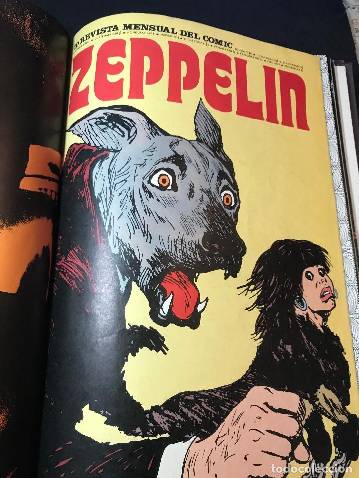 REVISTA ZEPPELIN COMPLETA 12 NÚMEROS EN DOS TOMOS. (Tebeos y Comics - Buru-Lan - Otros)