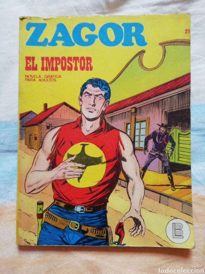 ZAGOR Nº 21. EL IMPOSTOR. BURU LAN EDICIONES (Tebeos y Comics - Buru-Lan - Zagor)