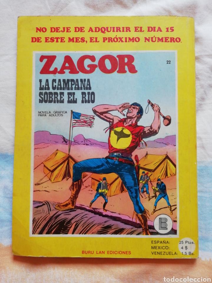 Cómics: Zagor Nº 21. El Impostor. Buru Lan Ediciones - Foto 4 - 159045929