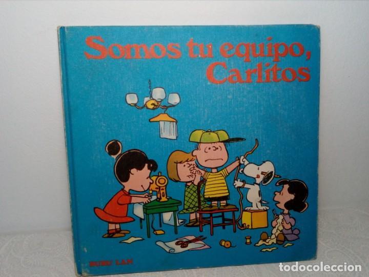 Cómics: COLECCIÓN ESTUCHE DE 7 LIBROS (CARLITOS, SNOOPY Y SUS AMIGOS) BURU LAN EDICIONES - PRIMERA EDICIÓN - Foto 21 - 159277262