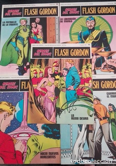 Cómics: FLASH GORDON Buru Lan - 10 a 19 Heroes del Comic 1.971 - Foto 2 - 159338462