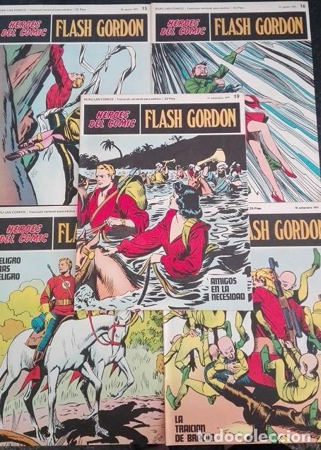 Cómics: FLASH GORDON Buru Lan - 10 a 19 Heroes del Comic 1.971 - Foto 3 - 159338462
