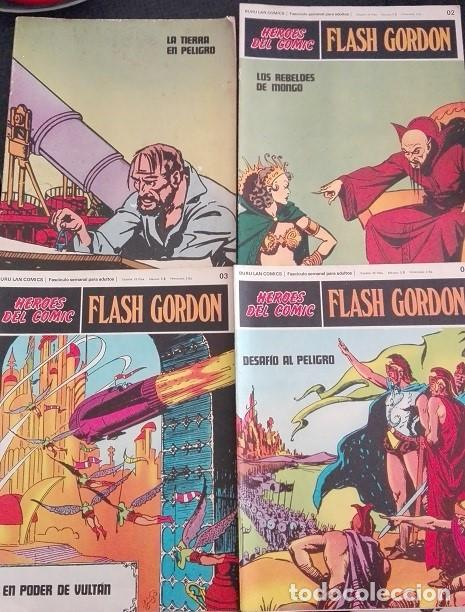 Cómics: FLASH GORDON Buru Lan - 01 a 011 Heroes del Comic 1.972 - Foto 2 - 159339318