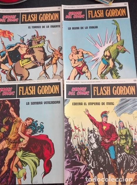 Cómics: FLASH GORDON Buru Lan - 01 a 011 Heroes del Comic 1.972 - Foto 3 - 159339318