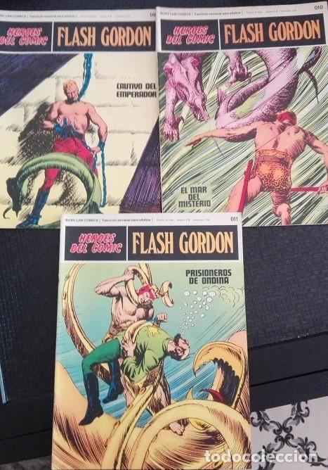 Cómics: FLASH GORDON Buru Lan - 01 a 011 Heroes del Comic 1.972 - Foto 4 - 159339318