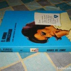 Cómics: EL HOMBRE ENMASCARADO, TOMO 4, 1974, BURU LAN, MUY BUEN ESTADO. Lote 159500994