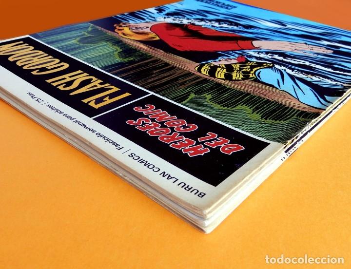 Cómics: FLASH GORDON, LOTE DE 4 FASCÍCULOS; Nº 21- 22- 23- 24 - PERTENECIENTES AL TOMO 2 - 1971 - BURU LAN - Foto 11 - 150816154