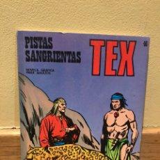 Cómics: TEX PISTAS SANGRIENTAS NÚMERO 46. Lote 159770253